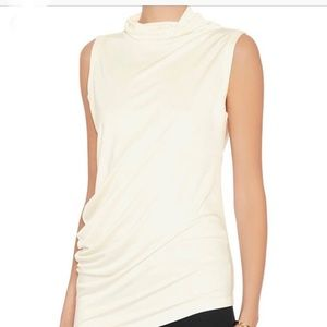 Joseph Ivory Cowlneck Top—new with tags